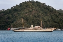 Nahlin at anchor off Gocek