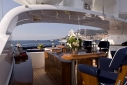 Sundeck aboard my My Trust, 45m Hakvoor55m Hakvoort