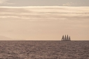 Phocea sailing towards Montserrat
