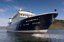 Raising the anchor aboard Hanse Explorer