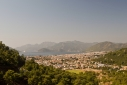 View of Marmaris from the road from Fethiye