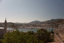 Bodrum harbour from the castle
