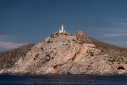 Lighthouse at Knidos from the sea